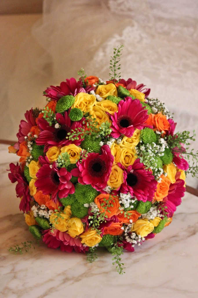 Mixed floral Bridal flowers